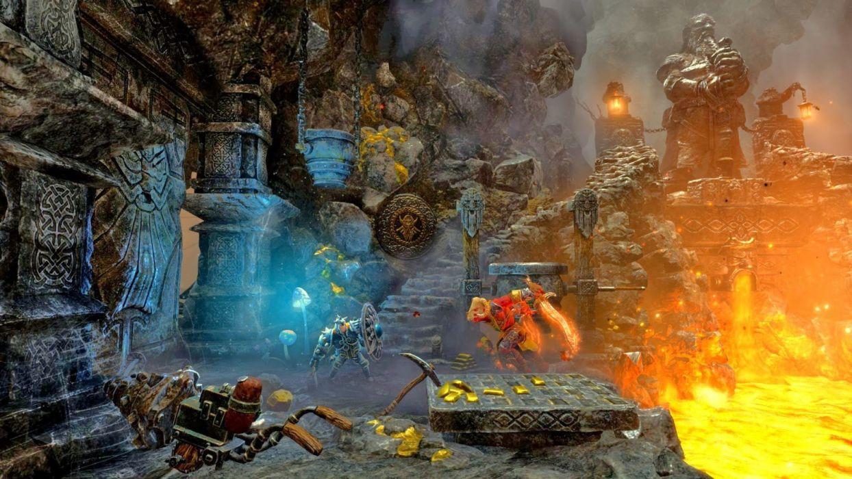 TRINE 2 scrolling fantasy platform action rpg (27) wallpaper