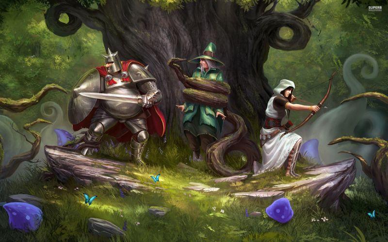 TRINE 2 scrolling fantasy platform action rpg (45) wallpaper