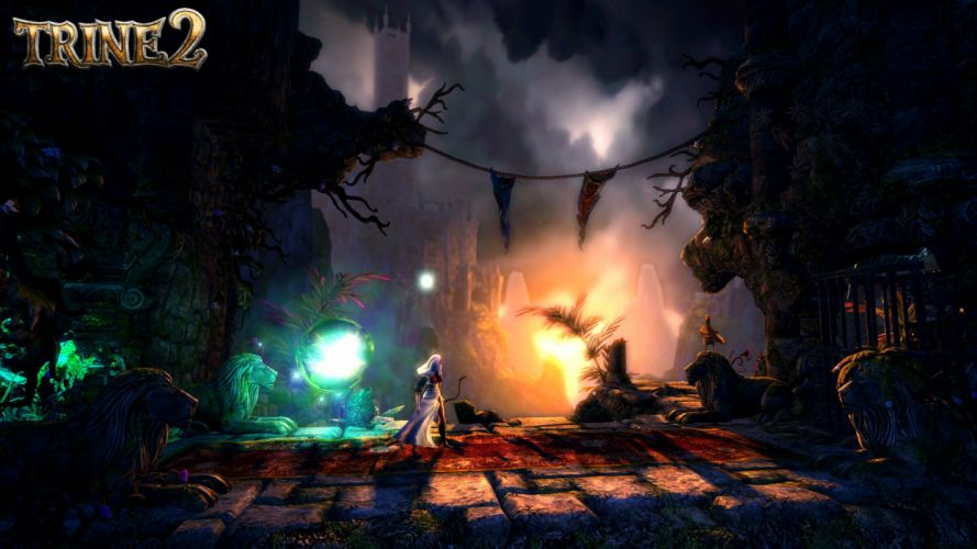 TRINE 2 scrolling fantasy platform action rpg (50) wallpaper