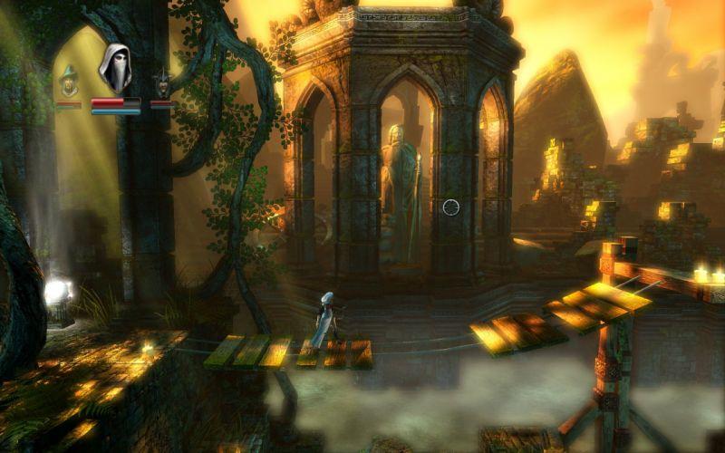 TRINE 2 scrolling fantasy platform action rpg (55) wallpaper