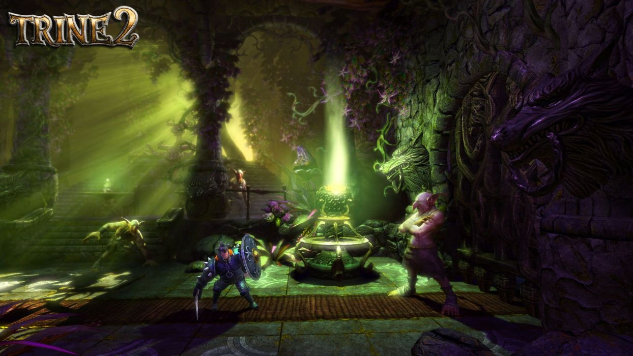 TRINE 2 scrolling fantasy platform action rpg (70) wallpaper