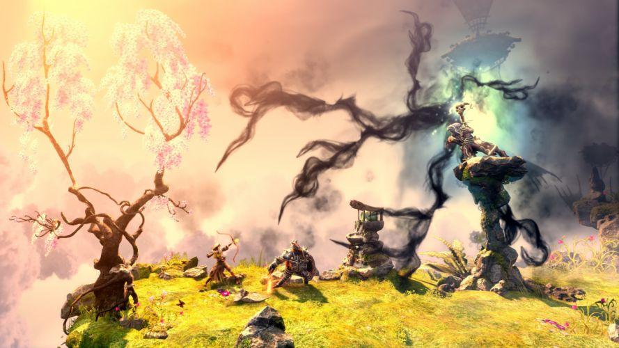 TRINE 2 scrolling fantasy platform action rpg (66) wallpaper