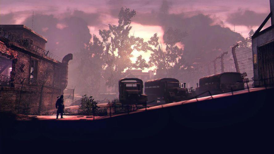 DEADLIGHT action scrolling survival horror cinematic platform (18) wallpaper