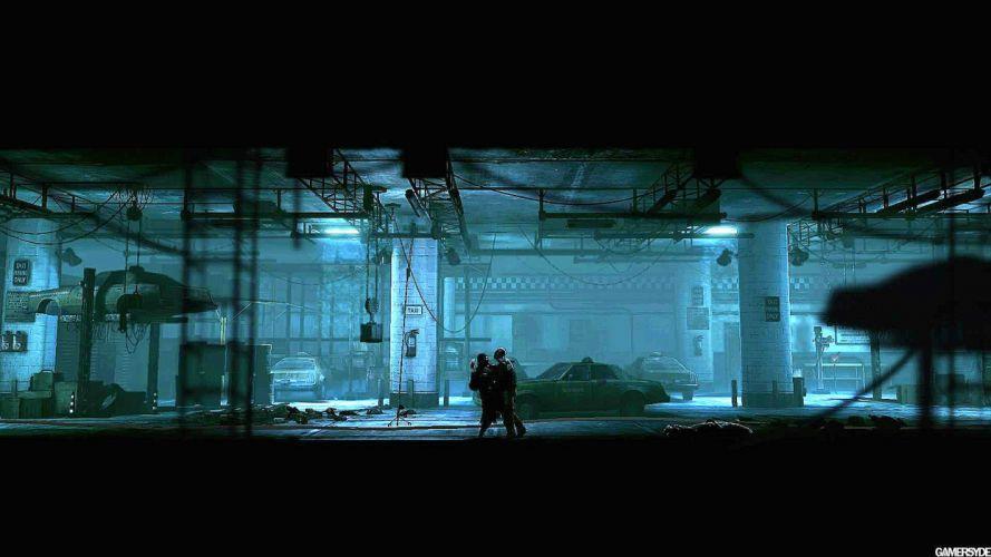 DEADLIGHT action scrolling survival horror cinematic platform (20) wallpaper