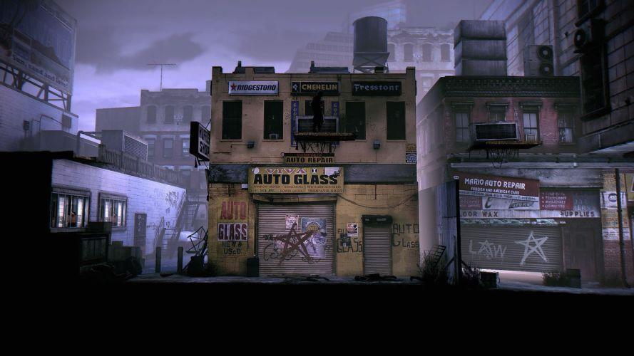DEADLIGHT action scrolling survival horror cinematic platform (21) wallpaper