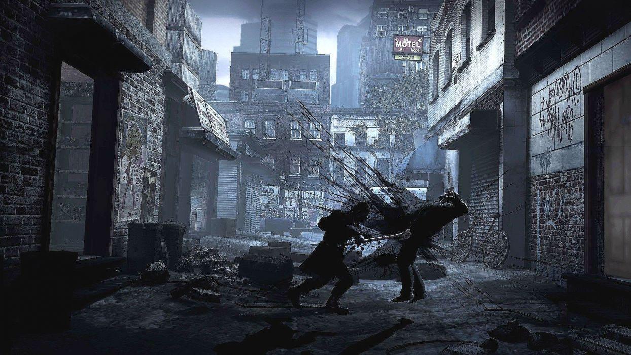 DEADLIGHT action scrolling survival horror cinematic platform (17) wallpaper