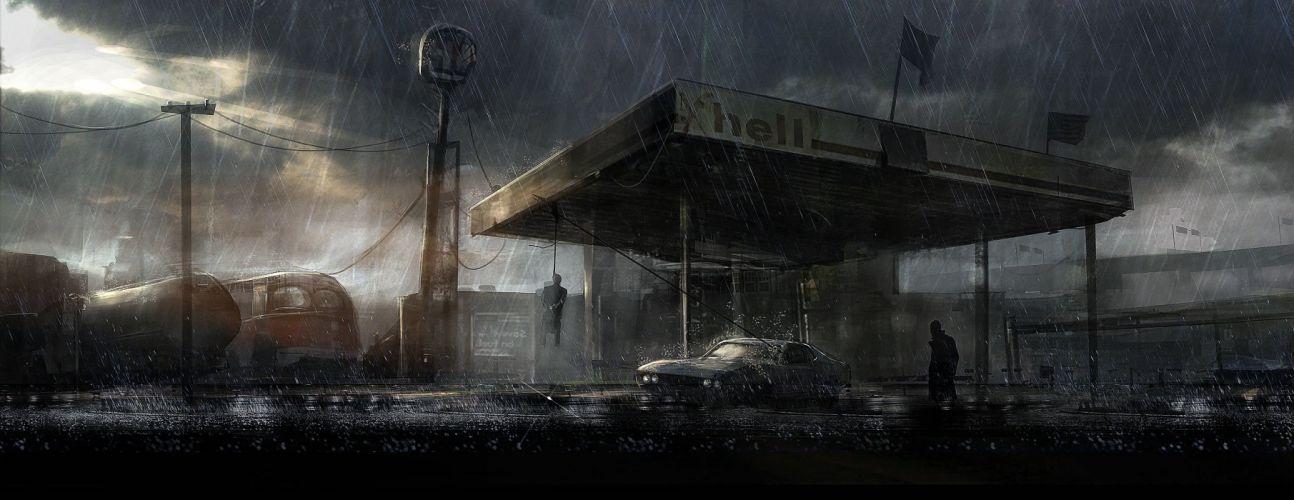 DEADLIGHT action scrolling survival horror cinematic platform (38) wallpaper