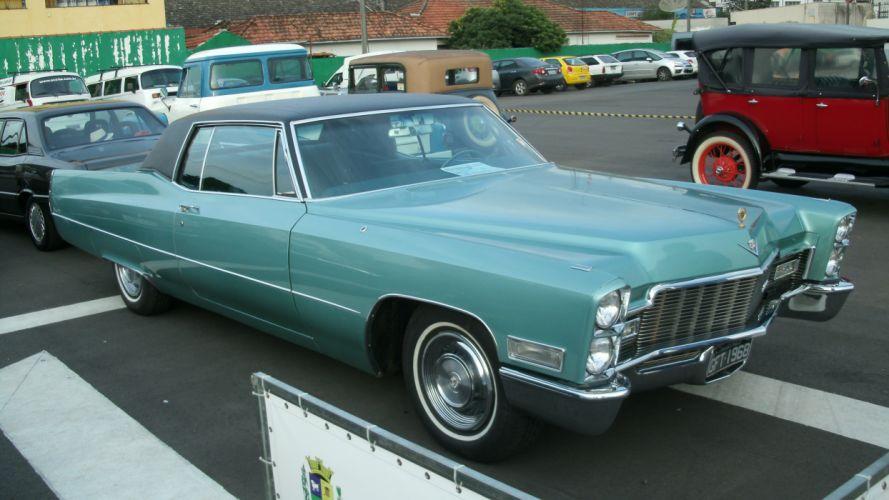 1968 Cadillac Cupoe DeVille Retro Classic wallpaper