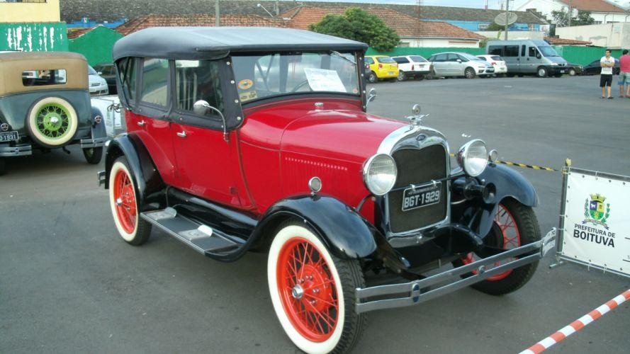 1929 Ford Model A Retro Classic wallpaper