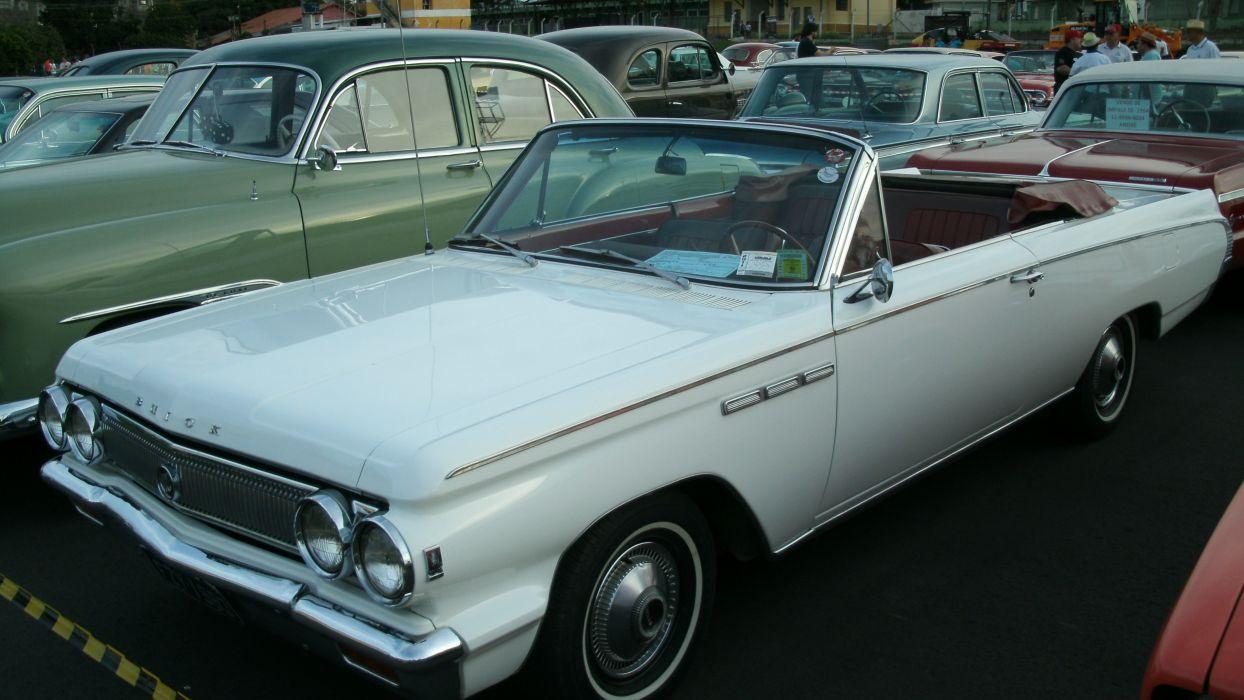 1963 Buick Skylark Convertible Retro Classic wallpaper