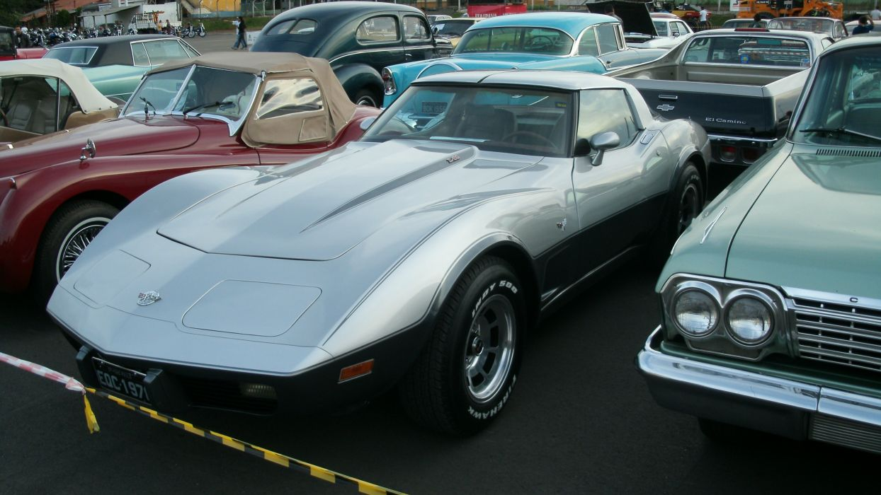 1978 Chevrolet Corvette Stingray Retro Classic wallpaper