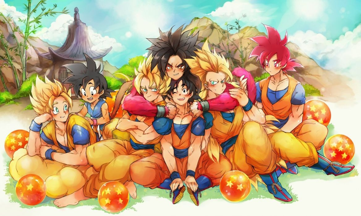 all male ayo (isy8800) dragonball male son goku wallpaper