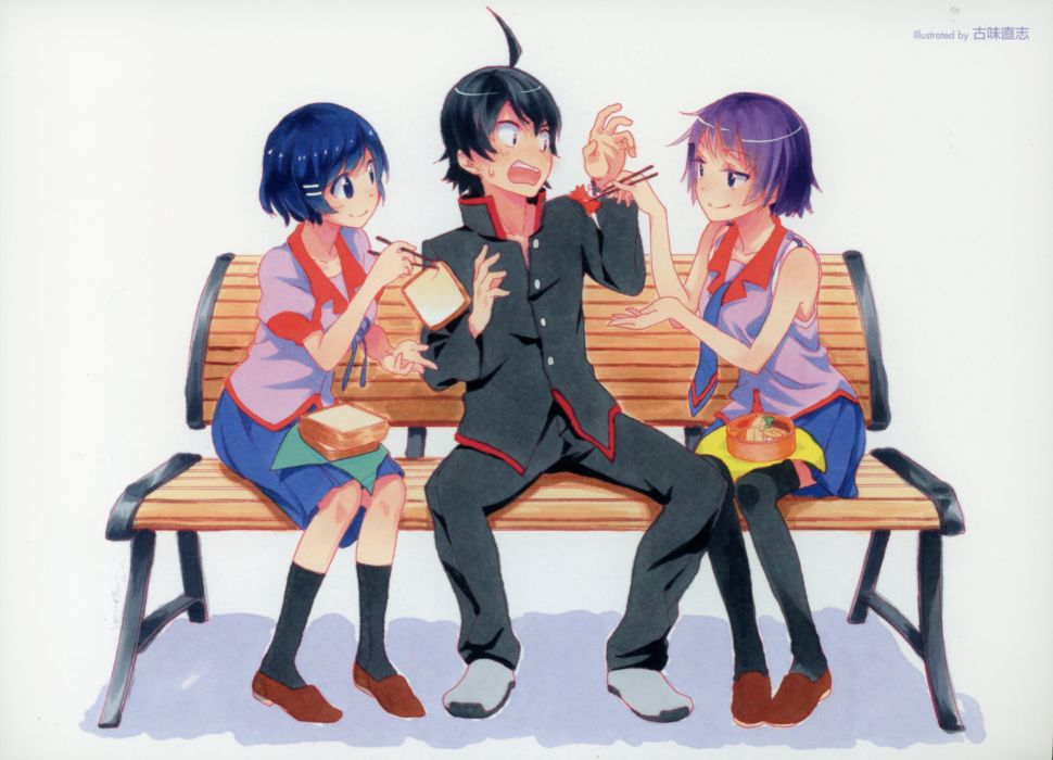 Monogatari  r wallpaper