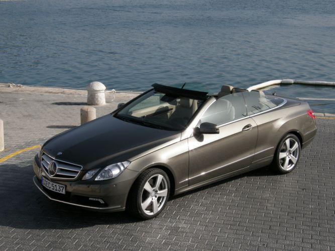 2010-Mercedes-Classe-E350-CDI-cabriolet wallpaper