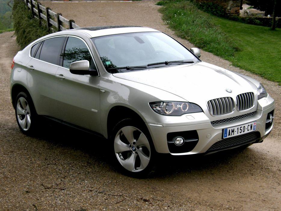 2010-BMW-X6-ActiveHybrid wallpaper
