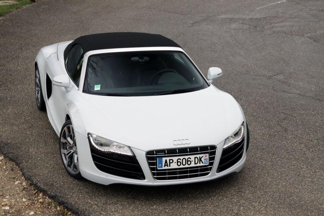 2010-Audi-R8-V10-Spyder-V10 wallpaper