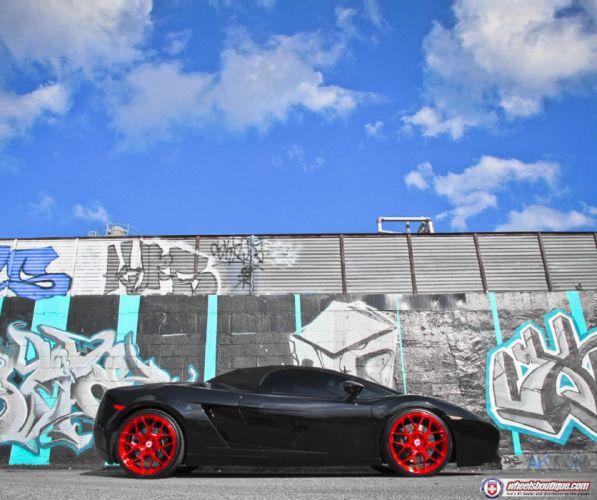 Lamborghini-Gallardo-spider wallpaper
