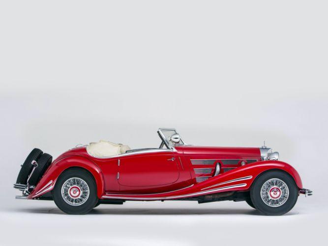 1934 Mercedes Benz 500K 540K Special Roadster (105136) retro t wallpaper