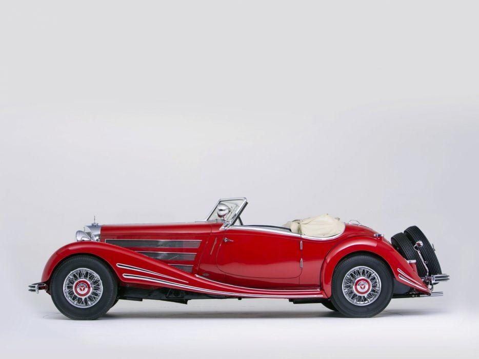 1934 Mercedes Benz 500K 540K Special Roadster (105136) retro  tt wallpaper