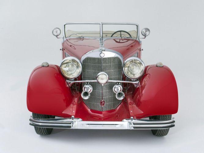 1934 Mercedes Benz 500K 540K Special Roadster (105136) retro tw wallpaper