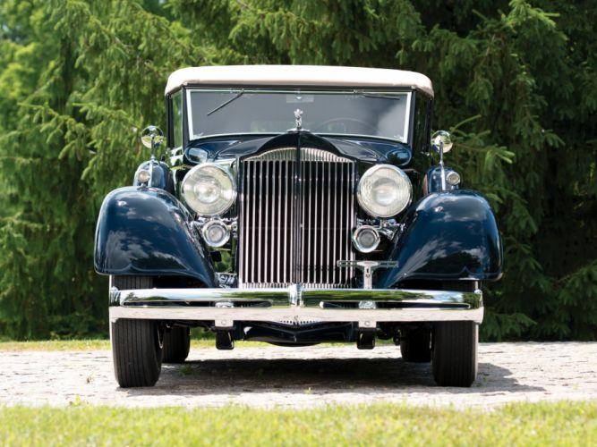 1934 Packard Eight Convertible Sedan Dietrich (1101) luxury retro ew wallpaper