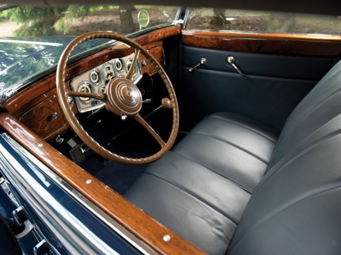 1934 Packard Eight Convertible Sedan Dietrich (1101) luxury retro interior g wallpaper