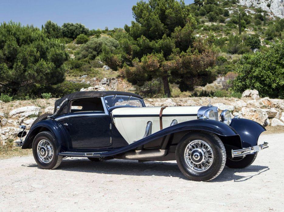 1936 Mercedes Benz 540K Sport Cabriolet A retro luxury   tw wallpaper