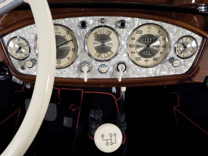 1936 Mercedes Benz 540K Sport Cabriolet A retro luxury j wallpaper
