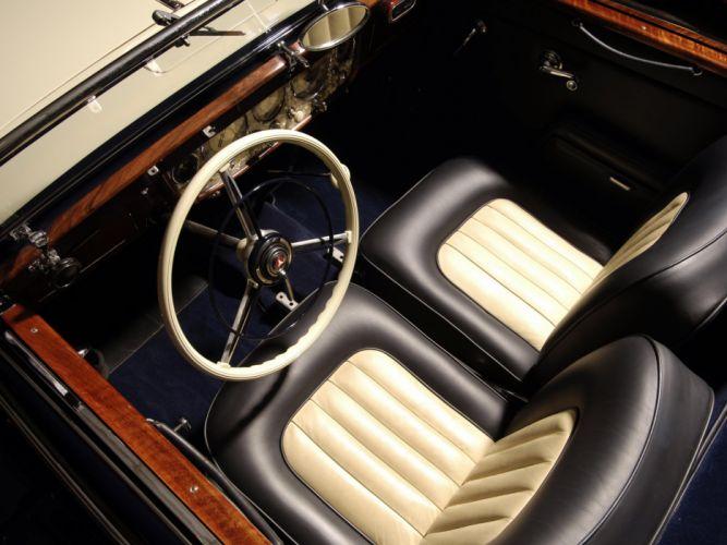 1936 Mercedes Benz 540K Sport Cabriolet A retro luxury h wallpaper