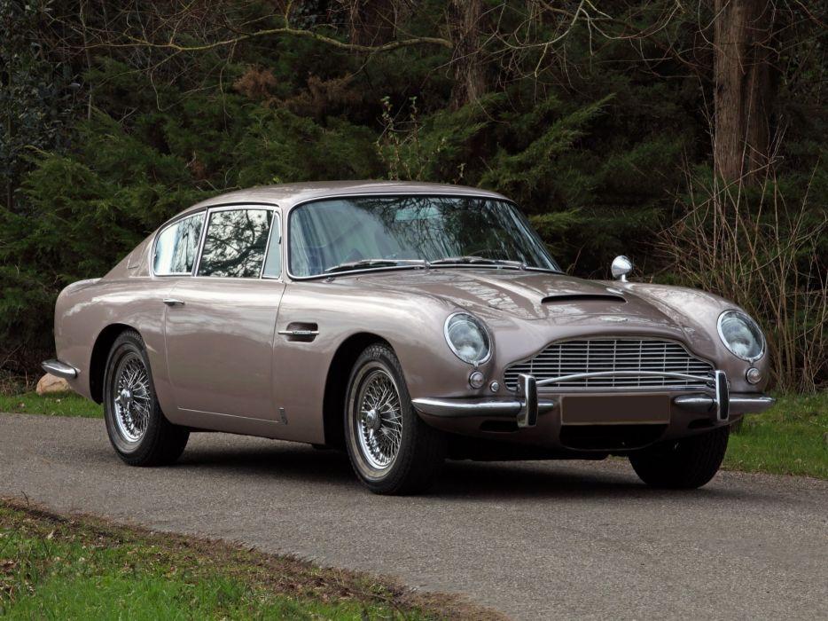 1965-69 Aston Martin DB6 Vantage classic  eq wallpaper