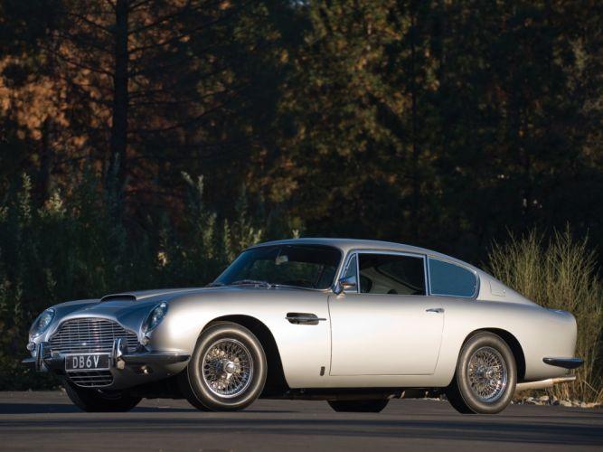 1965-69 Aston Martin DB6 Vantage classic e wallpaper