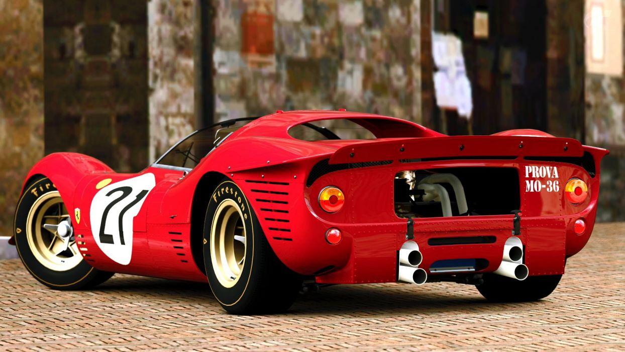 1967 Ferrari 412p Race Racing Classic E Wallpaper 1920x1080 384004 Wallpaperup