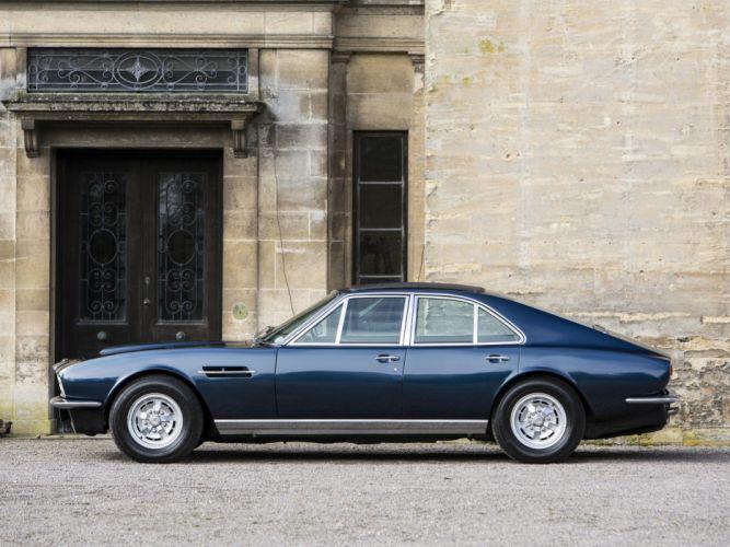 1969 Aston Martin Lagonda V-8 Saloon Prototype (MP2301) classic d wallpaper