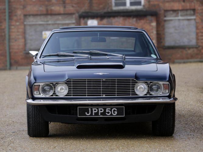 1969 Aston Martin Lagonda V-8 Saloon Prototype (MP2301) classic e wallpaper