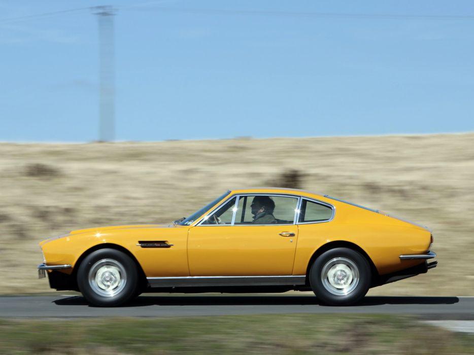 1970 Aston Martin DBS V-8 Persuaders (5636R) classic   eq wallpaper