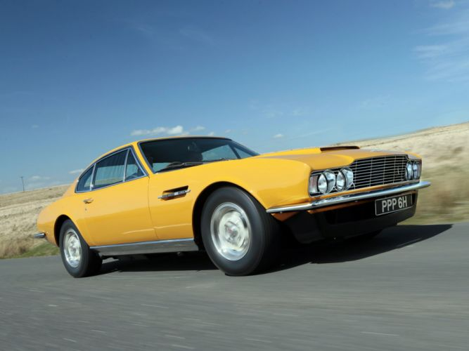 1970 Aston Martin DBS V-8 Persuaders (5636R) classic y wallpaper
