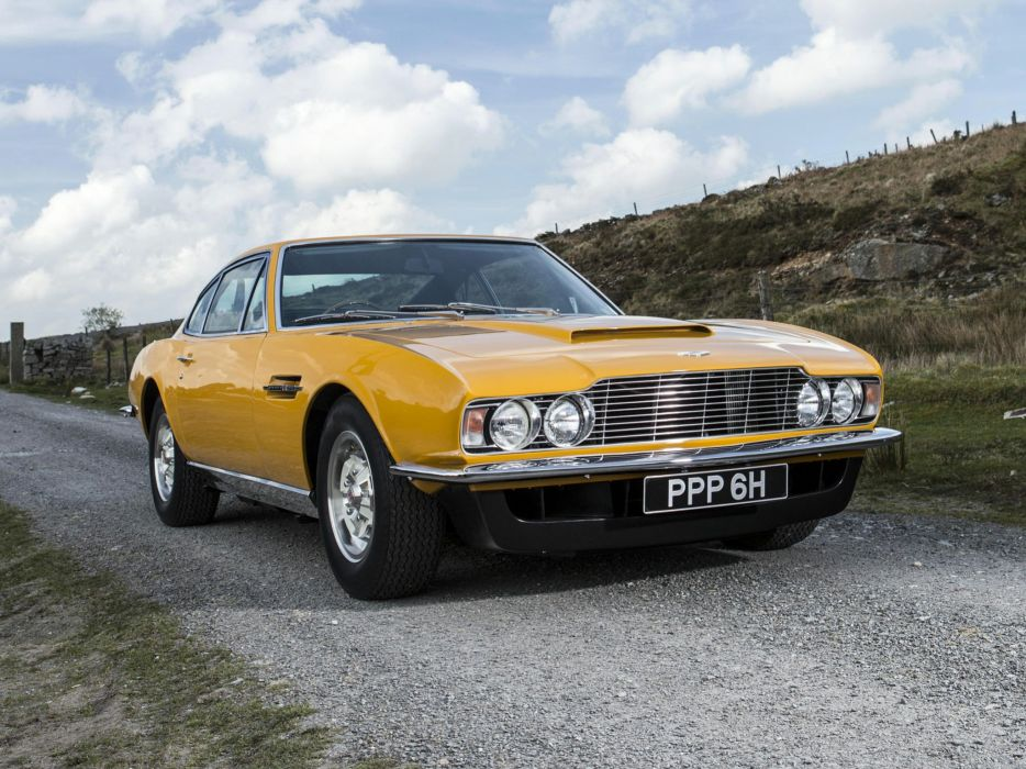 1970 Aston Martin DBS V-8 Persuaders (5636R) classic  t wallpaper