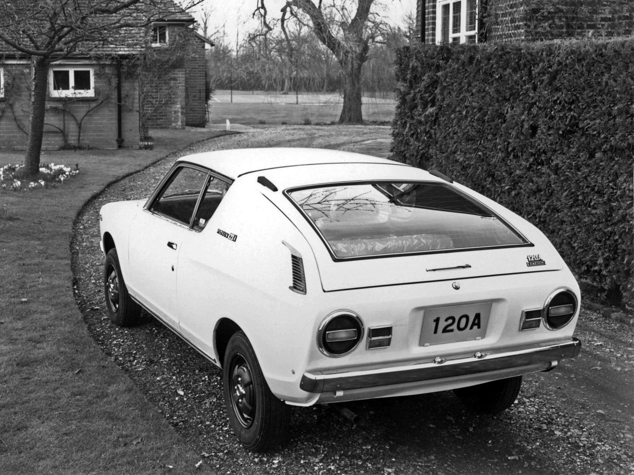 1971 Datsun Cherry 120A Coupe (E10) classic f wallpaper ...