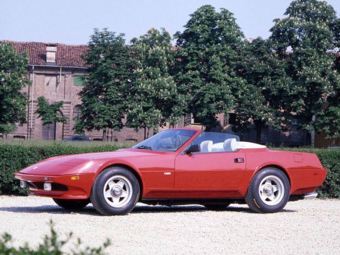 1972-79 Ferrari 365 GTS-4 NART Spyder supercar hd wallpaper
