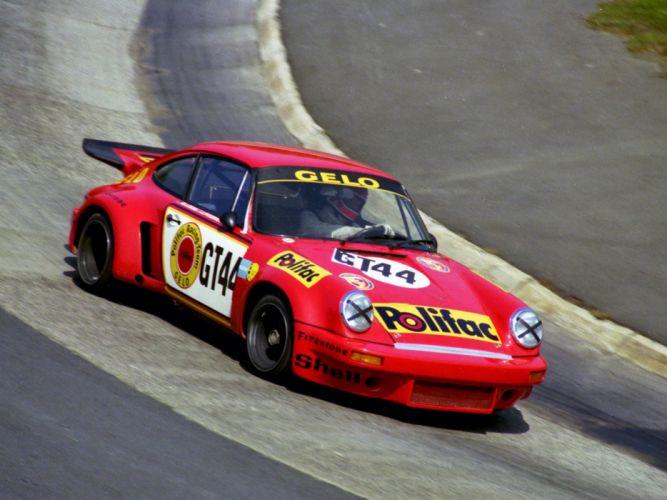 1974-77 Porsche 911 Carrera RSR 3-0 Coupe race racing supercar t wallpaper