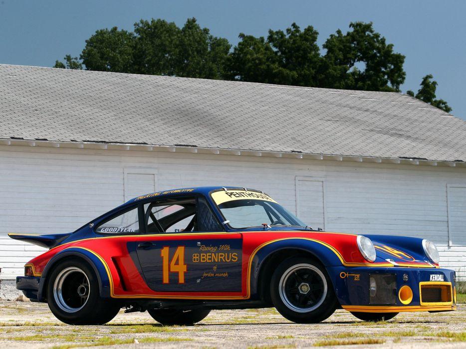 1974-77 Porsche 911 Carrera RSR 3-0 Coupe race racing supercar   gd wallpaper