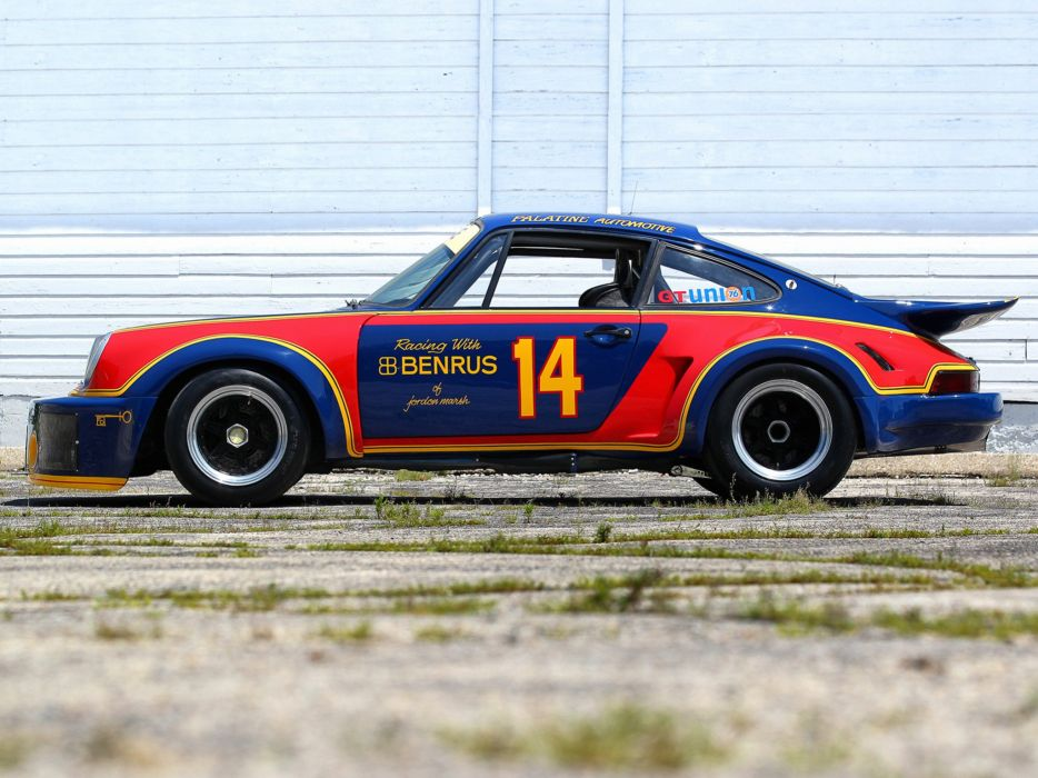 1974-77 Porsche 911 Carrera RSR 3-0 Coupe race racing supercar  e wallpaper