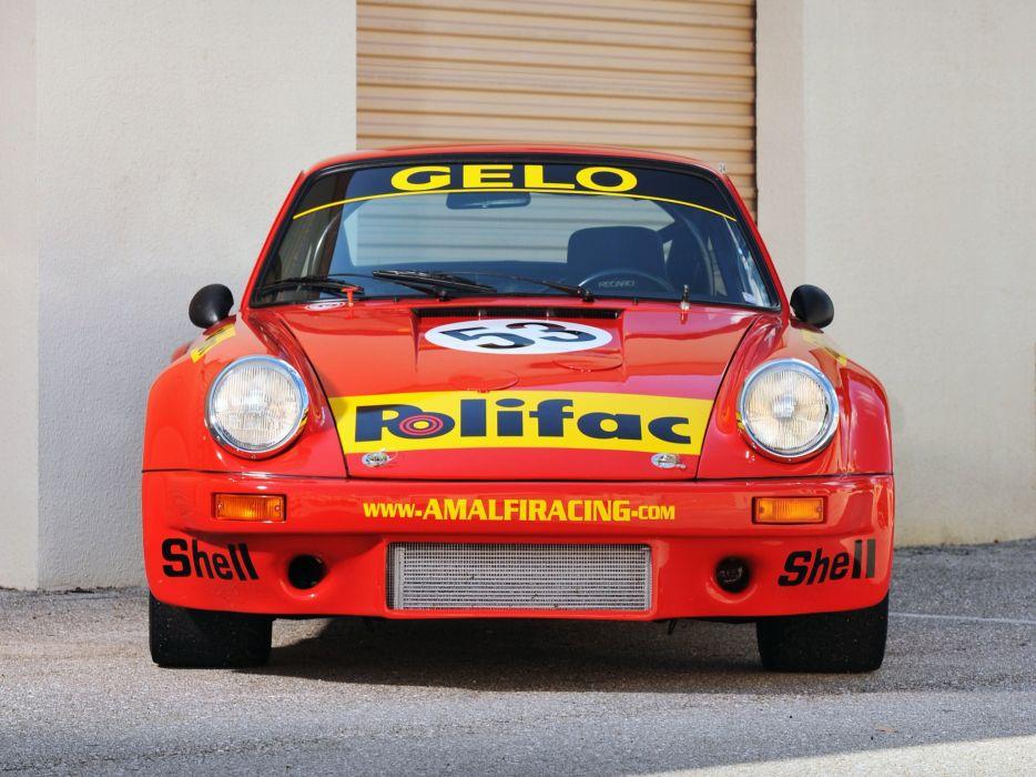 1974-77 Porsche 911 Carrera RSR 3-0 Coupe race racing supercar  3 wallpaper
