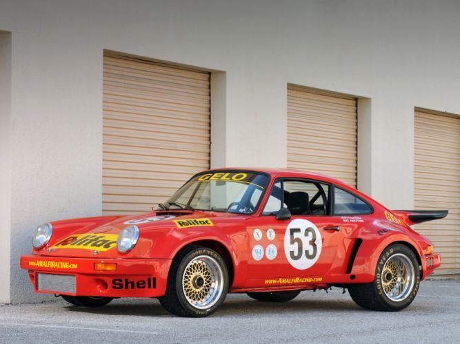 1974-77 Porsche 911 Carrera RSR 3-0 Coupe race racing supercar e wallpaper