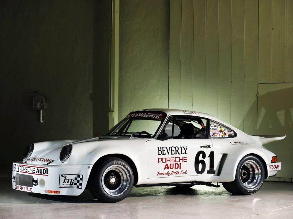 1974-77 Porsche 911 Carrera RSR 3-0 Coupe race racing supercar w wallpaper