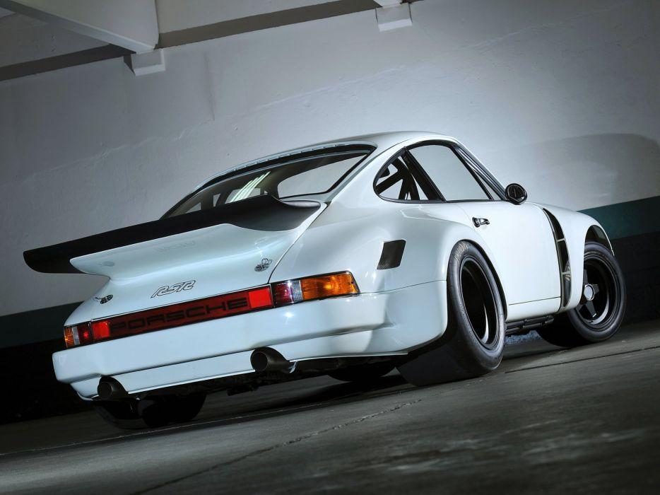 1974-77 Porsche 911 Carrera RSR 3-0 Coupe race racing supercar wk wallpaper
