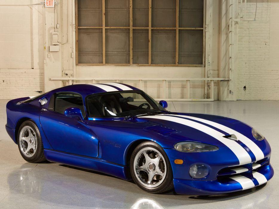 1993 Dodge Viper GTS Concept supercar muscle      f wallpaper