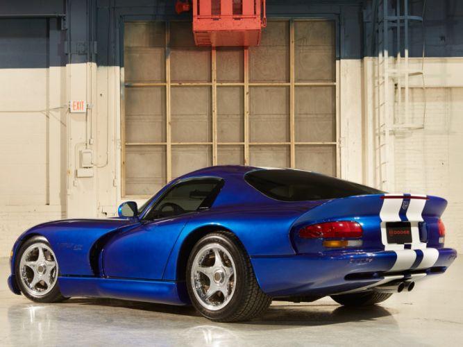 1993 Dodge Viper GTS Concept supercar muscle d wallpaper