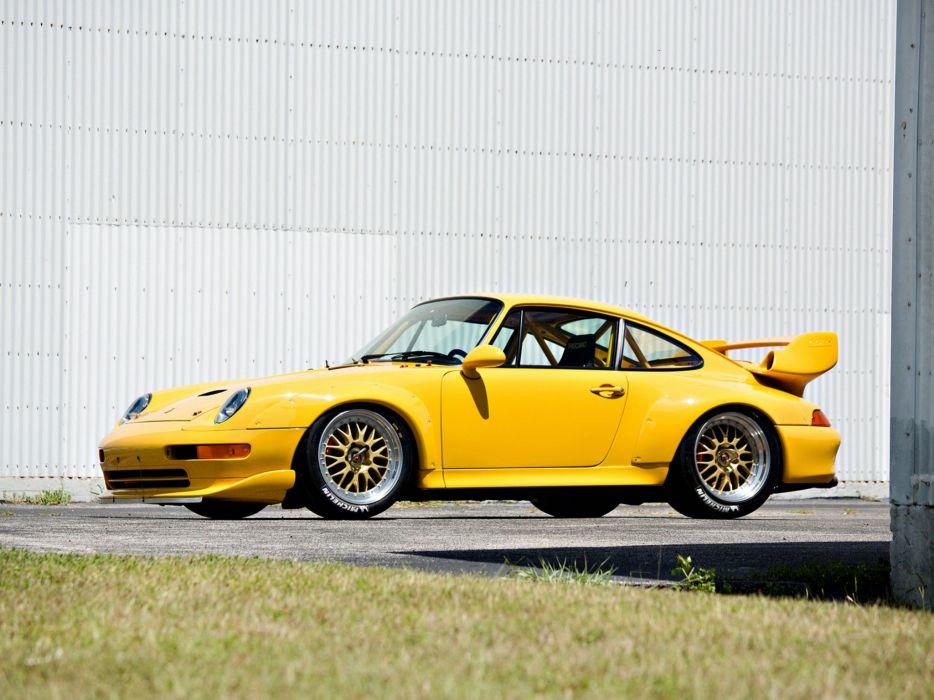 1995-98 Porsche 911 GT2 Evo (993) supercar race racing   rw wallpaper
