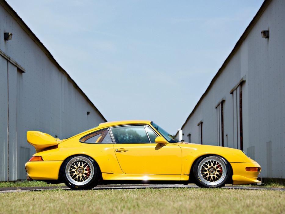 1995-98 Porsche 911 GT2 Evo (993) supercar race racing f wallpaper